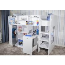 Flair Furnishings Wizard Junior High Sleeper Workstation-