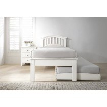 Flair Furnishings Justin Guest Bed White