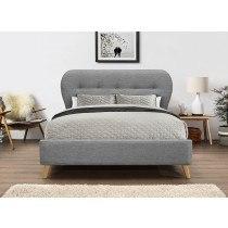 Flair Furnishings Ashley Fabric Bed Frame-