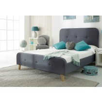 Flair Furnishings Nordic Fabric Bed Frame-