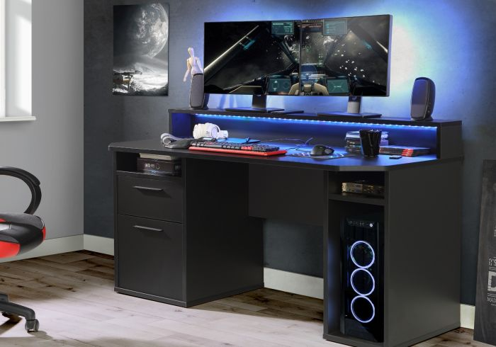 Flair Power Z LED Gaming Desk