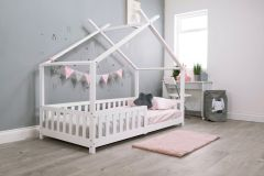 Flair Scout Tree Bed Frame White
