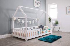 Flair Explorer Playhouse Bed White