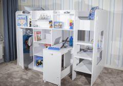 Flair Furnishings Wizard Junior High Sleeper Workstation