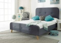 Flair Furnishings Nordic Fabric Bed Frame