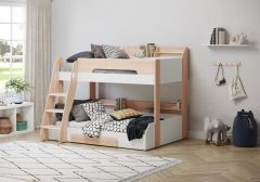 Flair Furnishing Flick Triple Bunk Bed Oak
