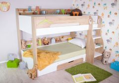Flair Furnishings Flick Bunk Bed Oak