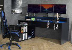 Flair Furnishings Power W Gaming Desk