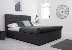 Flair Lola End Lift Fabric Ottoman Bed Frame
